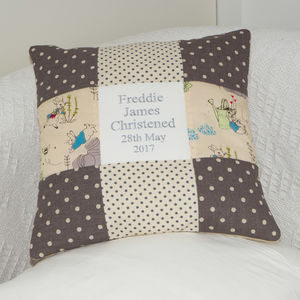 Peter Rabbit© Christening Cushion - bedroom