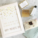 Mother's Day Card And Mini Pamper Gift Set