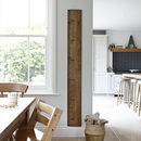 Wooden Growth Chart Ruler 'Dad's Rule'