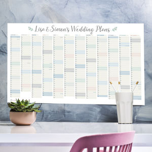 Personalised Wedding Planner - albums & guest books