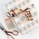 Pineapple Print Colourful Wrapping Paper