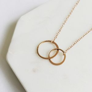 Rose Gold Unity Necklace