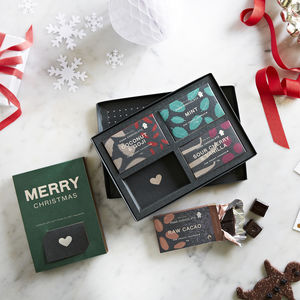 'Merry Christmas' Chocolate Gift Pack - new in food & drink