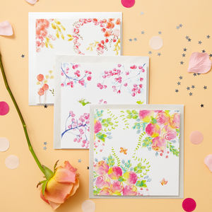 Botanicals Blank Card