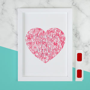 Personalised 'WILL YOU MARRY ME' Secret Message Print