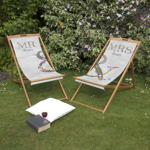 Couples Matching Deckchairs - shop by occasion