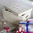 Luxury Personalised Wooden Christmas Eve Box
