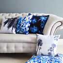 Blue tone Cushions by Penelope Hope