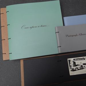 Large Leather Photo Album