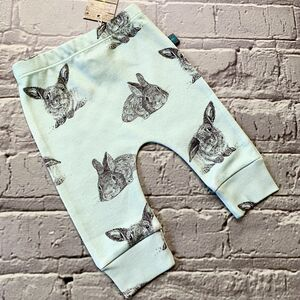Bunny Leggings Mint Green