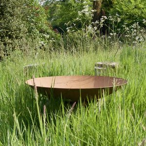 Circular Metal Brazier - fire pits & outdoor heating