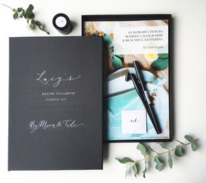 Calligraphy And Brush Lettering Starter Kit - gifts: £50 - £100