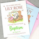 Personalised Baby Baptism Gift Book Of Blessings