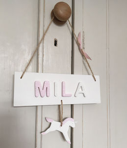Personalised Bedroom Door Plaque