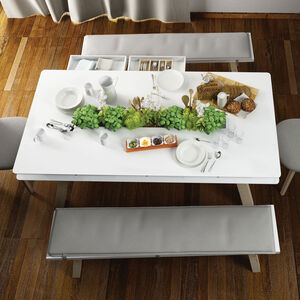 Vox 4 You Dining Bench In White
