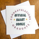 Official Smart Cookie Graduation Card