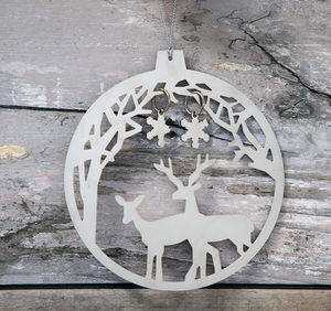 Forest Deer Bauble