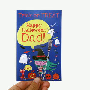 Personalised Halloween Card