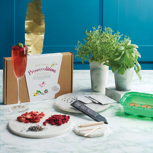 Prosecco Botanical Cocktail And Garden Growing Kit - gifts for women