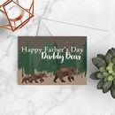 Daddy Bear Father's Day Card A5