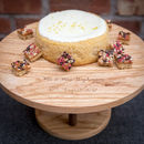 Personalised Wooden Cake Stand