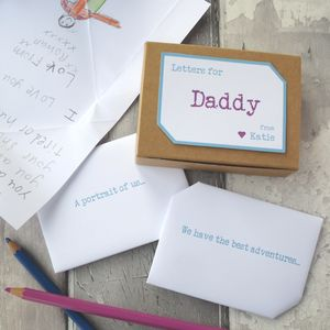 Personalised Father's Day Keepsake Letters
