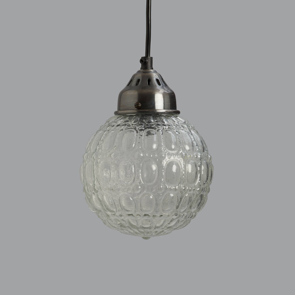 Orb Glass Pendant Light By Horsfall & Wright