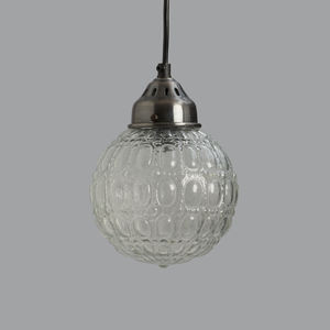 Orb Glass Pendant Light - lighting