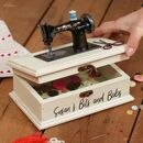 Personalised Vintage Sewing Box