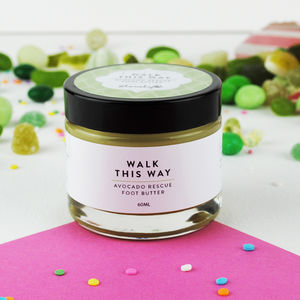 'Walk This Way' Avocado Rescue Foot Butter