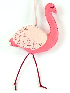 Flamingo Mini Kit - hanging decorations