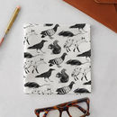 London Animals Handkerchief Pocket Square