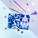 Watercolour Art Tasselled Pencil Case