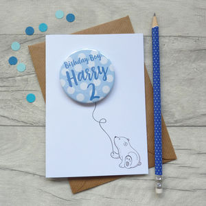 Birthday Boy Card - birthday cards