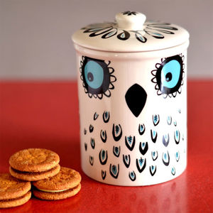 Owl Storage Jar