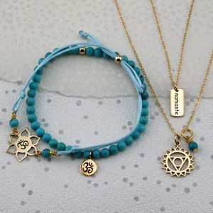 Selection Gold Chakra Jewellery Sets - more