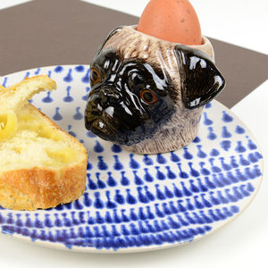 Pug Egg Cup - dining room