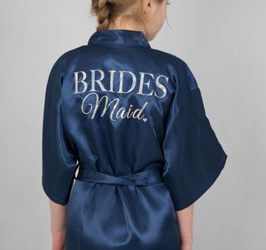 Childs Bridesmaid/Flowergirl Robe - women's fashion