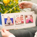 Personalised Wooden Photo Tile Hanging Plaque