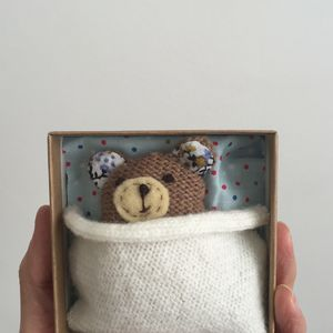Bear In A Box - soft toys & dolls