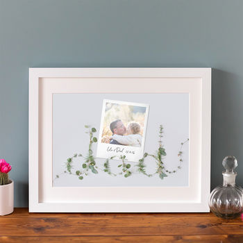 Personalised Photo Print For Father's Day