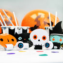 Halloween Spooky Faces Party Blowers