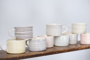 Musango Mug Horizontal Stripe - kitchen