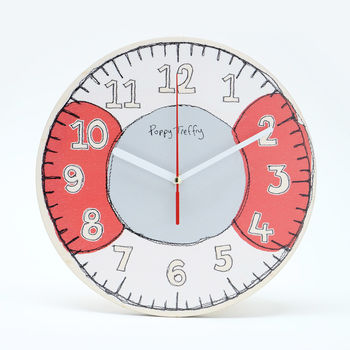 Wall Clock Seaside Buoy