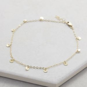 Gold Sequin Choker - chokers