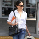 Meghan Markle carries her First Class Tech Case