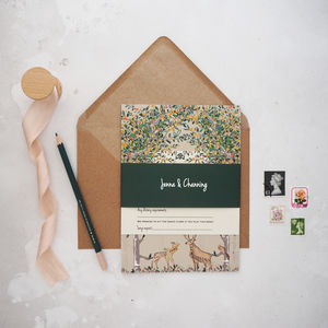 Majestic Woodland Wedding Invitation Set - invitations