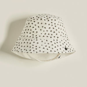 Beats Organic Cotton Unisex Kids Sunhat Grey Bunny - children's accessories