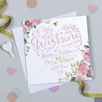 Mother's Day Heart And Soul Card