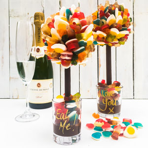 Personalised Haribo Edible Sweet Tree - sweet treats